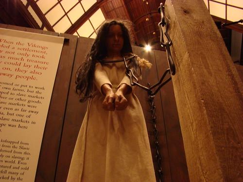 Slave girl in Dublinia