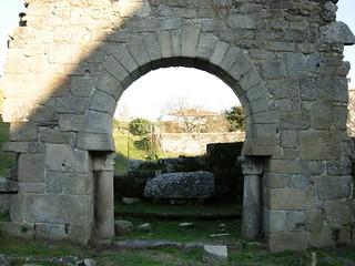 Afbeelding van Arco Visigótico de Panxón. galicia arco pontevedra panxon visigotico