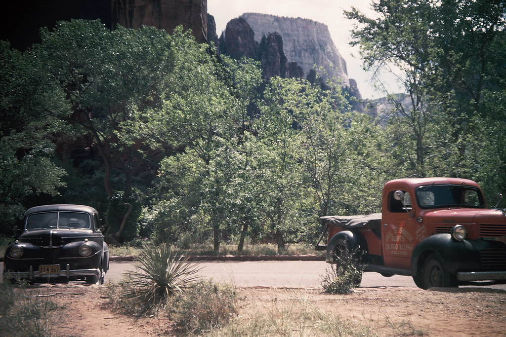 Zion National Park, 1947