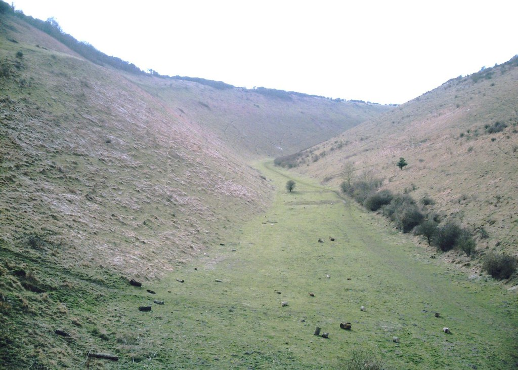 Hassocks to Upper Beeding The Devil's Dyke. D.Allen Vivitar 5199mp