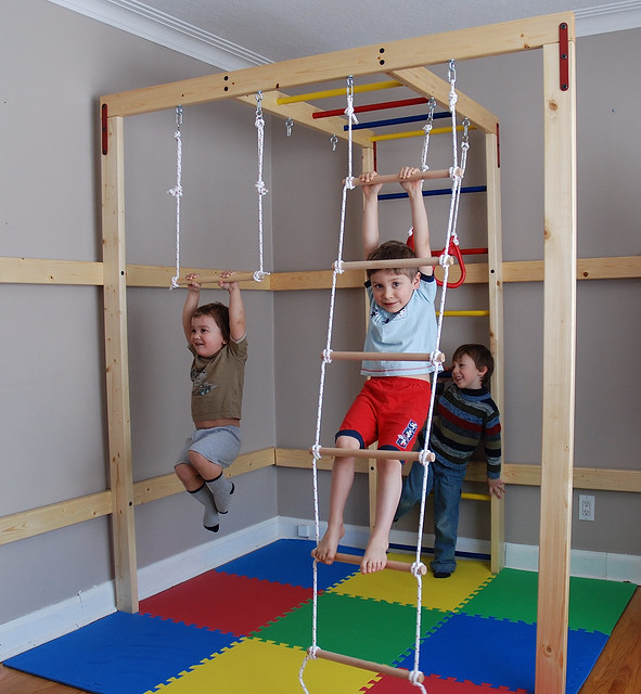 Indoor jungle gym for your home | Flickr - Photo Sharing!