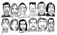 Expressive dozen