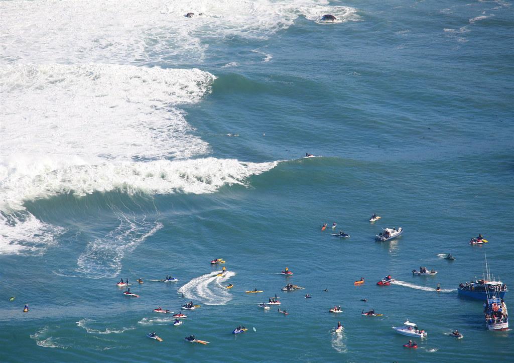 Mavericks beach surf