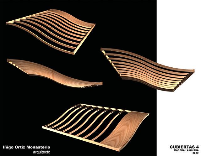 Cubiertas 4 ensayos sobre cubiertas prefabricadas de - Cubiertas de madera ...