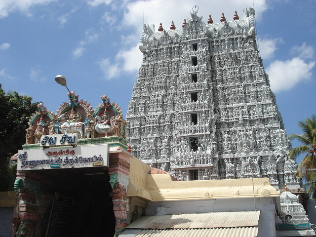 Suchindram In Kanyakumari