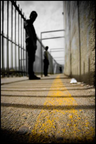 silhouette yellow israel palestine westbank politics jerusalem middleeast bethlehem socialinjustice