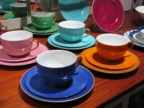 Colorful china-ware