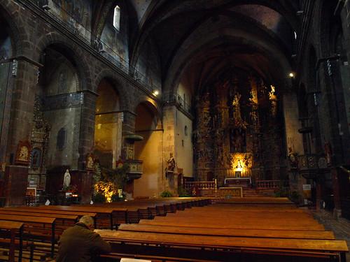 france church catholic praying kirche église kerk stpierre prades e510 pyrénéesorientales languedocrousillon catholique olympuse510 tlrdigitalvelvia atprayer miltonmic