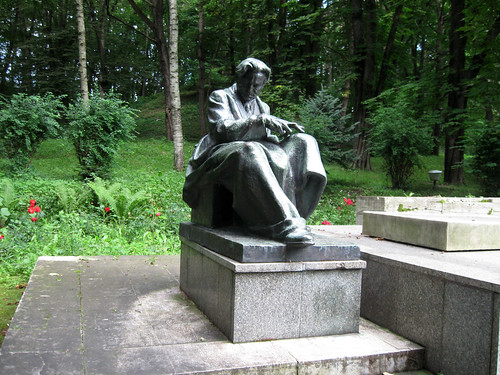 George Enescu statue by francovschi