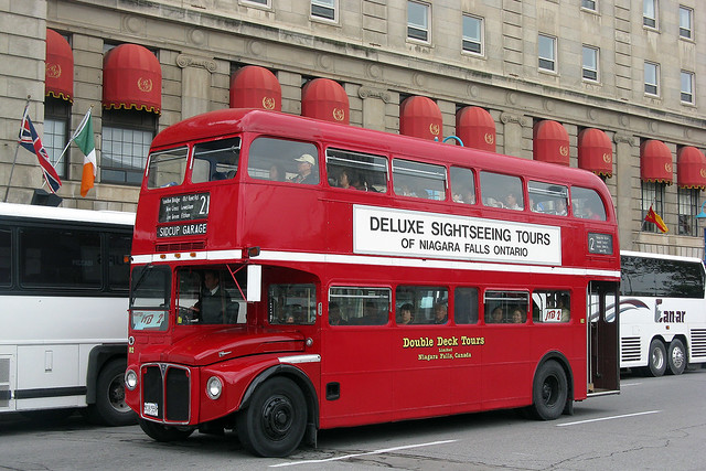 London Double-Decker Bus...