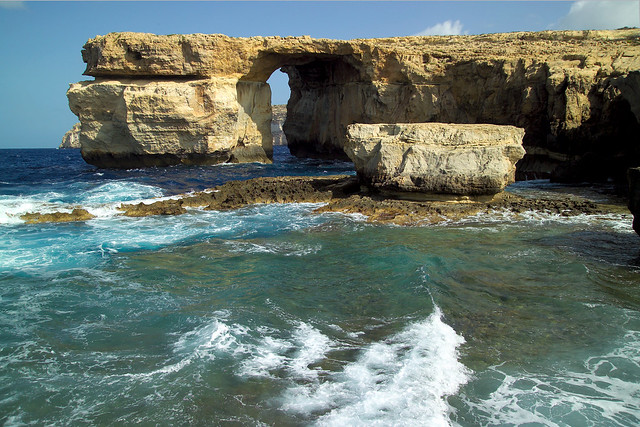 The Azure Window at Dwejra