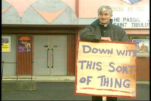Dermot Morgan Father Ted photo