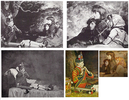An Idyll of 1745, by Millais with supporting photographs by Rupert Potter