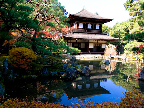 Sightseeing guide - Kyoto Ginkaku-ji (a world heritage)