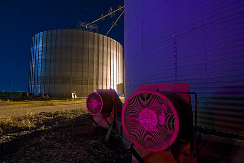 night texas grain silo prosper diamondclassphotographer colourartaward