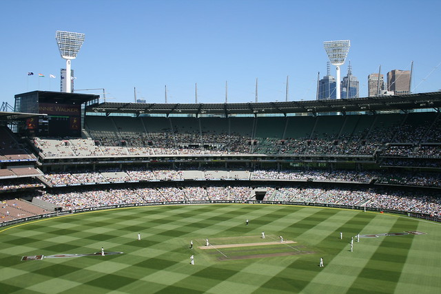 Cricket Boxing Day in Melbourne