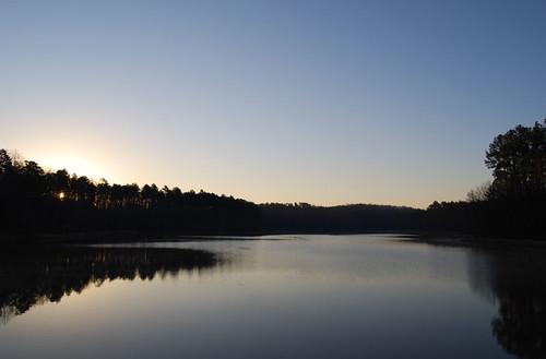 lake water sunrise chapelhill jeffcohen dgtlpapercuts digitalpapercuts