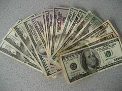 money handling, cash, paper, money, dollar, currency, banknote,