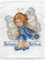 September (Sapphire) Fairy