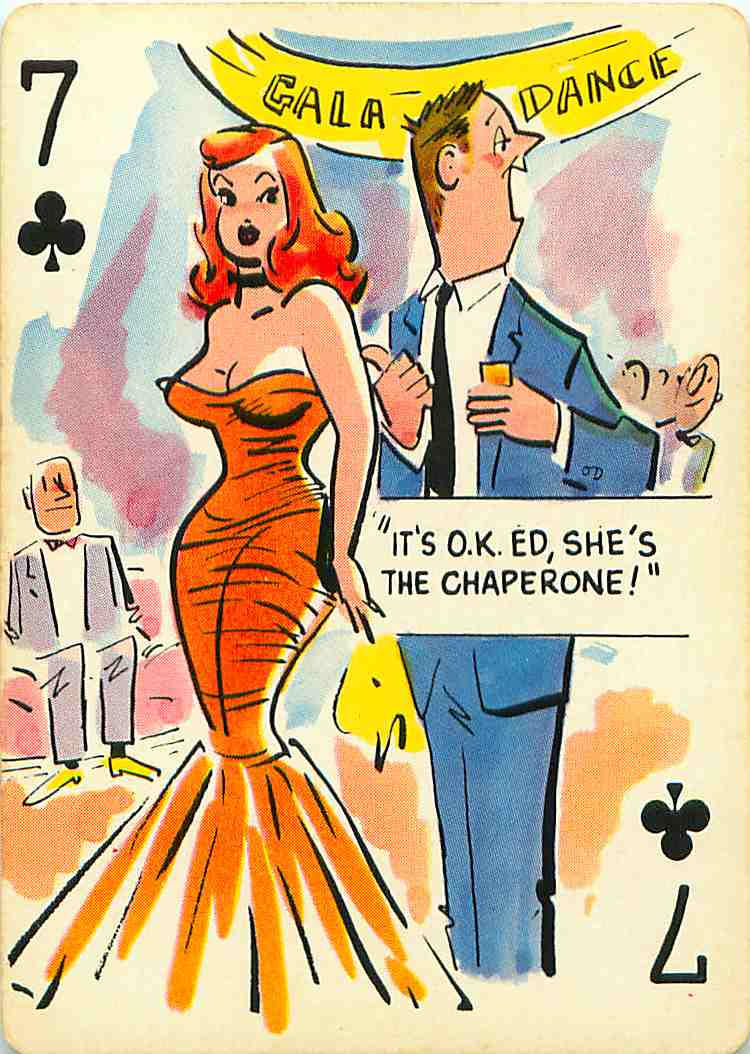 Pin-Up Cartoon Playing Cards - A Photo On Flickriver-4169