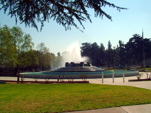 William Mulholland Memorial Fountain, Walter S. Clayberg, Designer, 1940 by Michael Locke