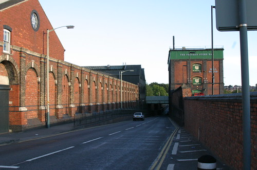Swindon Railway Works, Outlet Village & Pattern Store; Rodbourne Rd Boundary Wall