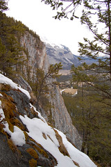 Tunnel Mountain Cliff