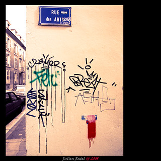 ~~ ARTists street / Rue des ARTistes ~~