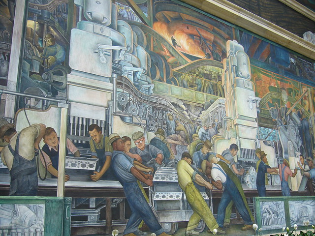 Diego rivera industry mural dia flickr photo sharing for Diego rivera dia mural