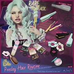 Olive the Presley Hair Routine Gacha