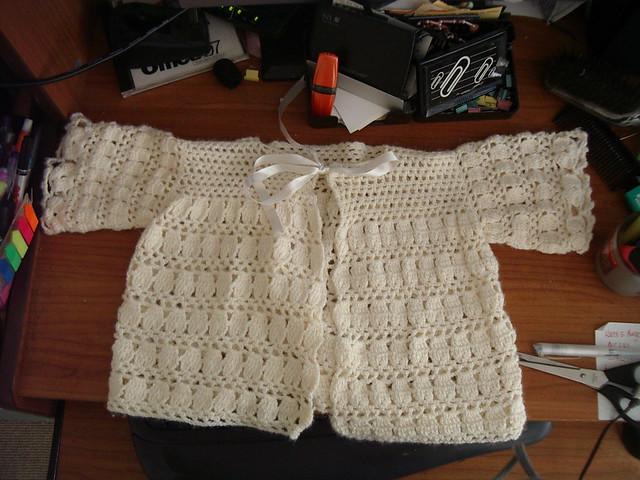 Baby Cardigan Crochet Pattern | FaveCrafts.com