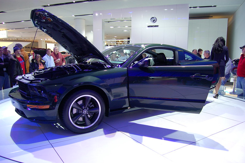 Ford Bullitt Mustang North American International Auto Show Detroit 2008 016 N