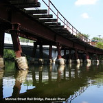 BRIDGE K078: Monroe Street Railroad Bridge over Passaic River, New Jersey