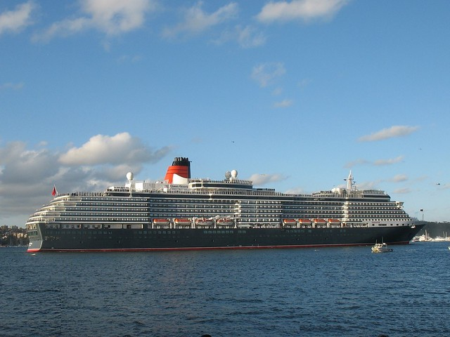 Queen Victoria Cruise Ship In Sydney Harbour  Flickr