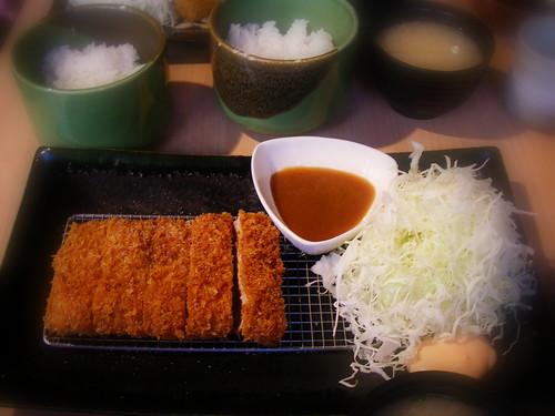 加賀味噌醬腰內肉豬排套餐