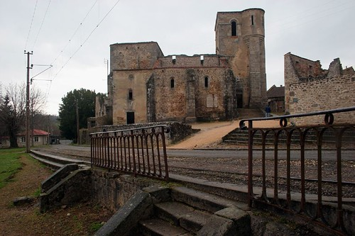 Flickriver photos from oradour sur glane limousin france for Abandoned neighborhoods in america