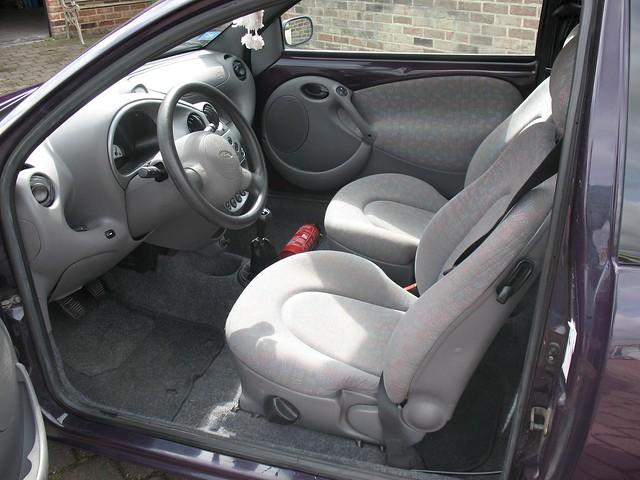 1999 ford ka interior 2 flickr photo sharing. Black Bedroom Furniture Sets. Home Design Ideas