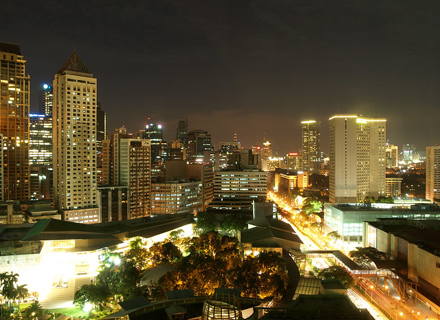 Makati City Manila At Night Flickr Photo Sharing
