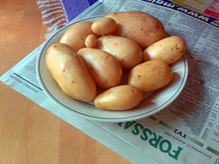plant(0.0), dish(0.0), vegetable(1.0), potato(1.0), produce(1.0), food(1.0), root vegetable(1.0),