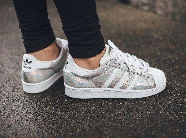 Tendance Chausseurs Femme 2017 – Adidas Superstar W Iridescent : où l'acheter ? | Sneakers-actus