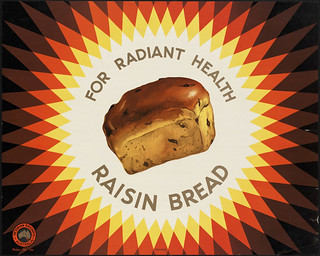 For radiant health raisin bread