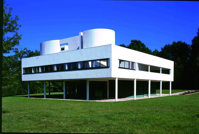 Le corbusier villa savoye 1928 1930 poissy francia flickr photo shar - Villa savoye poissy francia ...