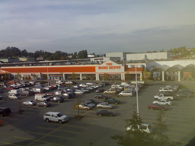 The Home Depot on Gilmore in Burnaby