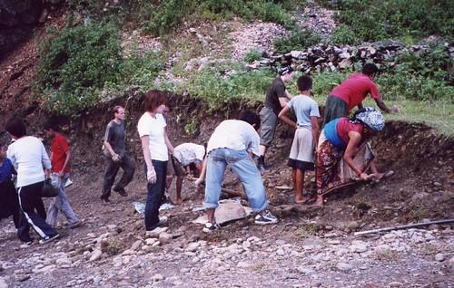 Nepal, Pokhara, 2002