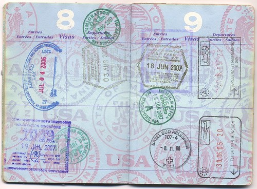 USA Passport: USA, Singapore, Austria, Germany, Switzerland