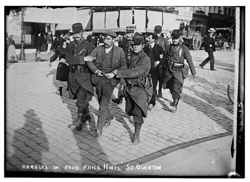 Arrests in Food Price Riots, St. Quentin  (LOC)