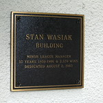 Florida - Vero Beach - Dodgertown: Stan Wasiak Building