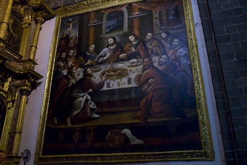 Last Supper, Cuzco Cathedral