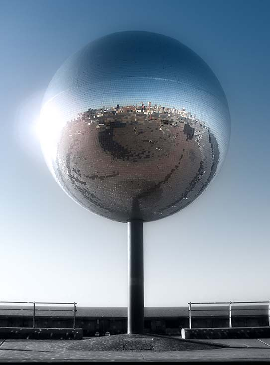 Photography - Disco Ball Glare by Nicholas M Vivian