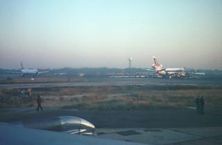 Bombay Airport 1978